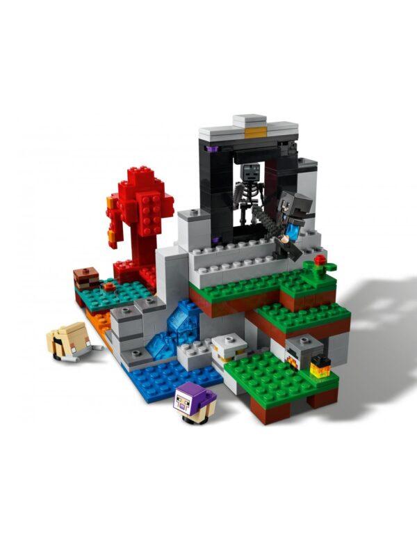 Lego Minecraft Η Κατεστραμμένη Πύλη  21172 Minecraft Αγόρι 12 ετών +, 7-12 ετών LEGO, Lego Minecraft