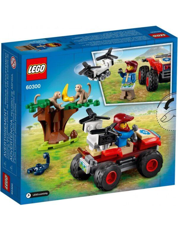Lego City Wildlife ATV Διάσωσης Άγριων Ζώων  60300 Αγόρι 5-7 ετών, 7-12 ετών  LEGO, Lego City