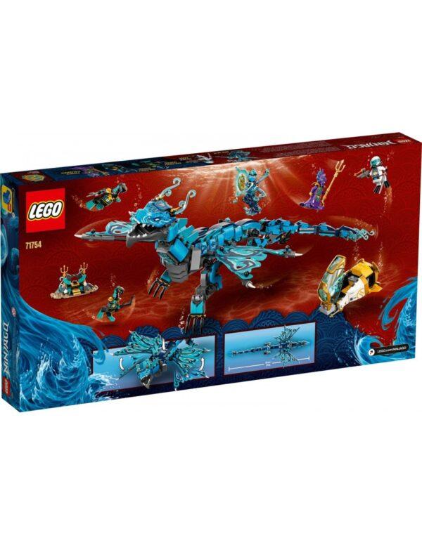 LEGO, Lego Ninjago Lego Ninjago Δράκος του Νερού  71754 12 ετών +, 7-12 ετών Αγόρι
