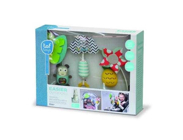 Taf Toys  Taf Toys Παιχνίδι Καροτσιού Αψίδα T-12135 Αγόρι, Κορίτσι 0-6 μηνών, 12-24 μηνών, 6-12 μηνών