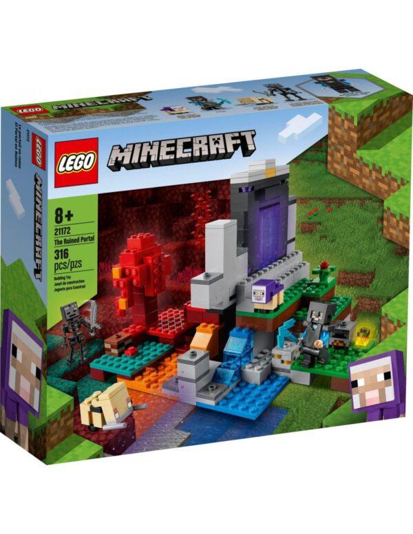 Lego Minecraft Η Κατεστραμμένη Πύλη  21172 LEGO, Lego Minecraft Αγόρι 12 ετών +, 7-12 ετών Minecraft