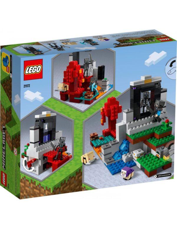 Minecraft LEGO, Lego Minecraft Αγόρι 12 ετών +, 7-12 ετών Lego Minecraft Η Κατεστραμμένη Πύλη  21172