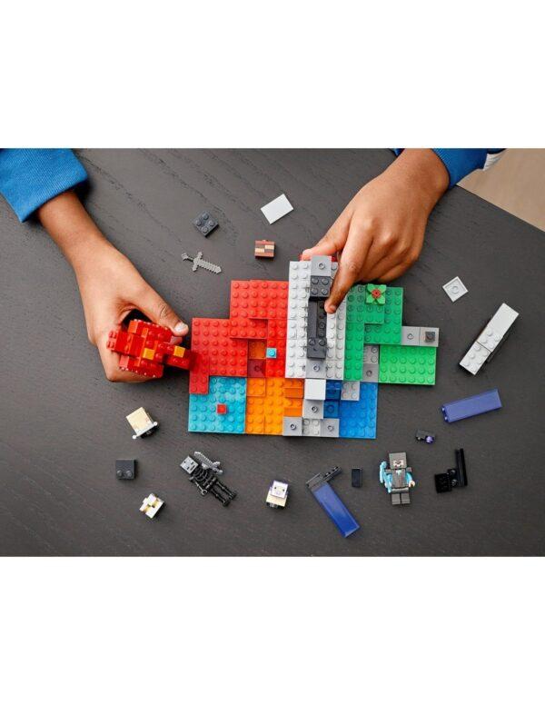 Lego Minecraft Η Κατεστραμμένη Πύλη  21172 12 ετών +, 7-12 ετών Αγόρι LEGO, Lego Minecraft Minecraft