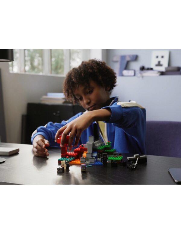 Minecraft Lego Minecraft Η Κατεστραμμένη Πύλη  21172 LEGO, Lego Minecraft 12 ετών +, 7-12 ετών Αγόρι