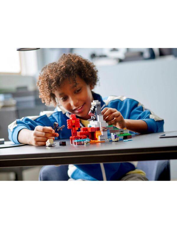 Minecraft LEGO, Lego Minecraft Lego Minecraft Η Κατεστραμμένη Πύλη  21172 12 ετών +, 7-12 ετών Αγόρι