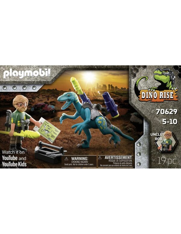 Playmobil Dino Rise Δεινόνυχος με τον θείο Rob 70629  Αγόρι 4-5 ετών, 5-7 ετών, 7-12 ετών Playmobil, Playmobil Dino Rise