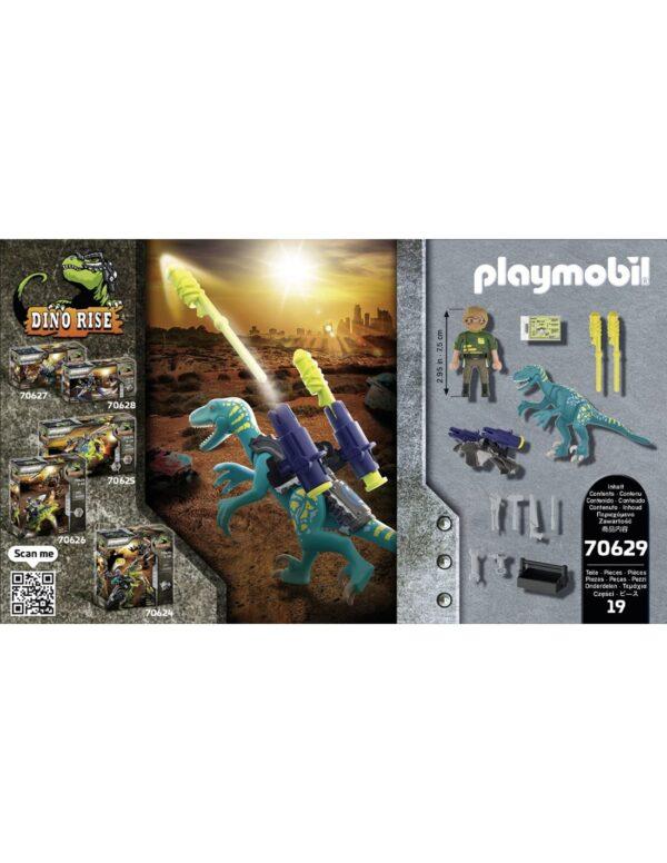 Playmobil, Playmobil Dino Rise  Playmobil Dino Rise Δεινόνυχος με τον θείο Rob 70629 Αγόρι 4-5 ετών, 5-7 ετών, 7-12 ετών