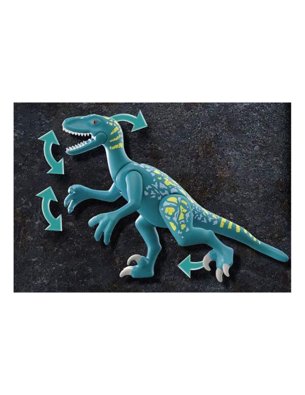 Playmobil, Playmobil Dino Rise Αγόρι 4-5 ετών, 5-7 ετών, 7-12 ετών Playmobil Dino Rise Δεινόνυχος με τον θείο Rob 70629