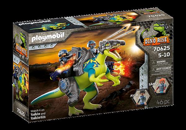 Playmobil Dino Rise Σπινόσαυρος με διπλή πανοπλία 70625 Playmobil, Playmobil Dino Rise Αγόρι 4-5 ετών, 5-7 ετών, 7-12 ετών