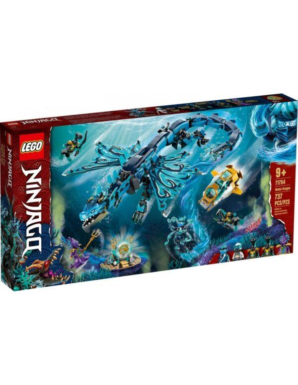 Lego Ninjago Δράκος του Νερού  71754 LEGO, Lego Ninjago Αγόρι 12 ετών +, 7-12 ετών