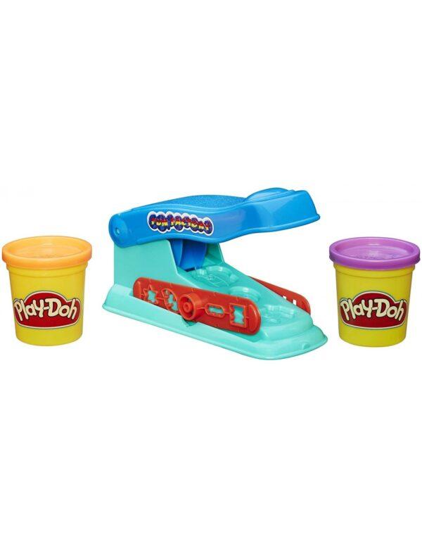 Play-Doh Basic Fun Factory Πλαστελίνη Πρέσσα Με 2 Βαζάκια B5554  Αγόρι, Κορίτσι 3-4 ετών, 4-5 ετών, 5-7 ετών Play-Doh
