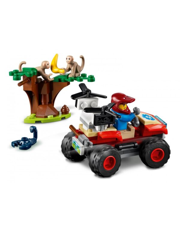 LEGO, Lego City  Lego City Wildlife ATV Διάσωσης Άγριων Ζώων  60300 Αγόρι 5-7 ετών, 7-12 ετών