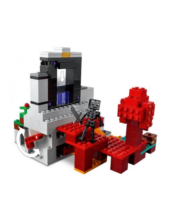 LEGO, Lego Minecraft Minecraft Lego Minecraft Η Κατεστραμμένη Πύλη  21172 Αγόρι 12 ετών +, 7-12 ετών