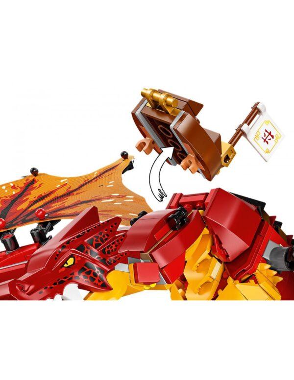 LEGO, Lego Ninjago  Lego Ninjago Επίθεση του Δράκου της Φωτιάς  71753 Αγόρι 12 ετών +, 7-12 ετών