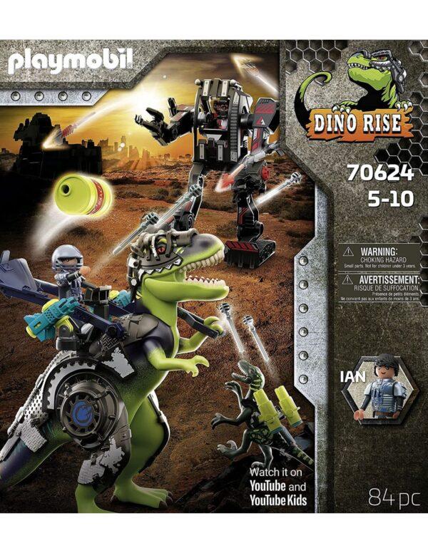 Playmobil Dino Rise T-Rex: Η Μάχη Των Γιγάντων 70624  Αγόρι 4-5 ετών, 5-7 ετών, 7-12 ετών Playmobil, Playmobil Dino Rise