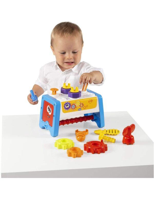 Chicco Παιδικός Πάγκος Εργασίας 2 σε 1 Y02-10062-00  Αγόρι, Κορίτσι 12-24 μηνών, 2-3 ετών, 6-12 μηνών Chicco
