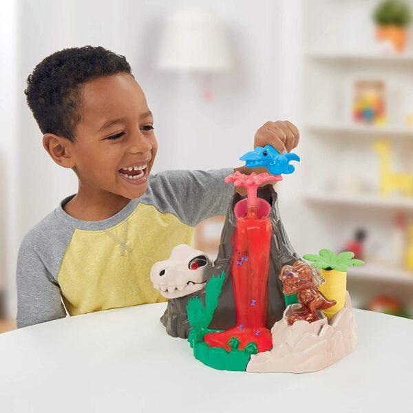 Play-Doh Αγόρι, Κορίτσι 3-4 ετών, 4-5 ετών Play-Doh Dino Lava Bones Island F1500RC0