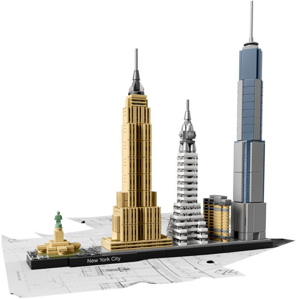 LEGO Architecture Νέα Υόρκη 21028 LEGO Αγόρι, Κορίτσι 12 ετών + LEGO, Lego Architecture