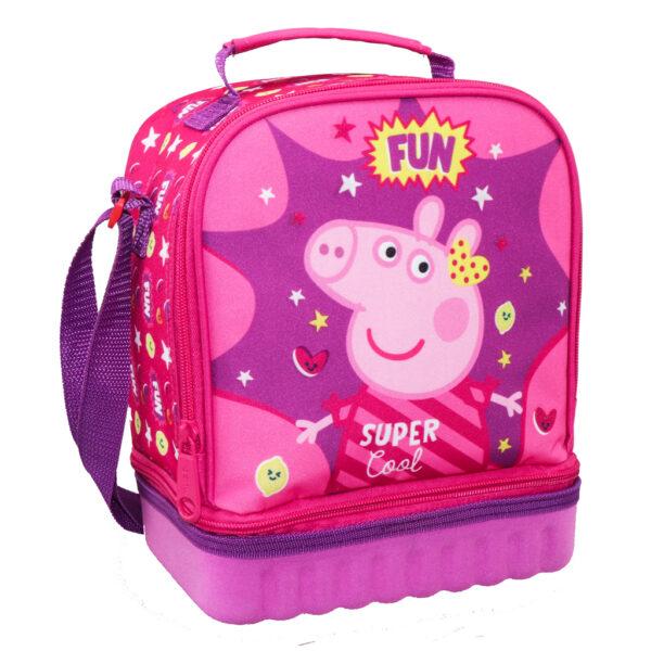Τσαντάκι Φαγητού Ισοθερμικό Peppa Pig   482610 must Κορίτσι 3-4 ετών, 4-5 ετών, 5-7 ετών, 7-12 ετών Peppa Pig