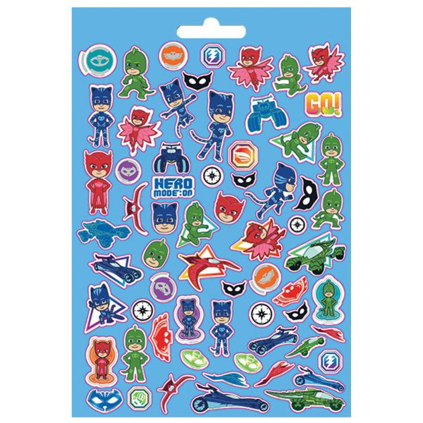 Αυτοκόλλητα PJ Masks Μπλοκ 300 Τμχ., 14,5x21,5 εκ.  484209 Pj masks Αγόρι, Κορίτσι 3-4 ετών, 4-5 ετών, 5-7 ετών, 7-12 ετών the littlies