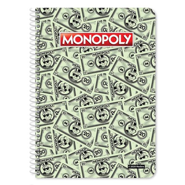 Τετράδιο Σπιράλ Β5 Monopoly 2 Θέματα, 60 Φύλλα, 2 Σχέδια 483023 must Αγόρι, Κορίτσι 4-5 ετών, 5-7 ετών, 7-12 ετών