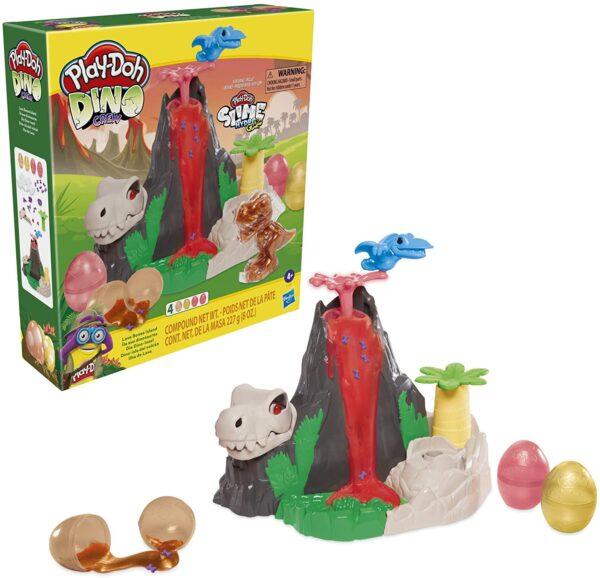 Play-Doh Dino Lava Bones Island F1500RC0  Αγόρι, Κορίτσι 3-4 ετών, 4-5 ετών Play-Doh