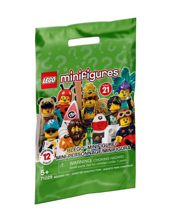 LEGO 71029 Minifigure Series 21 LEGO, LEGO Minifigures Αγόρι, Κορίτσι 5-7 ετών, 7-12 ετών LEGO