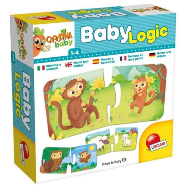 Carotina Baby Logic Mum And Puppy 10.80038 Carotina Baby Αγόρι, Κορίτσι 12-24 μηνών, 2-3 ετών