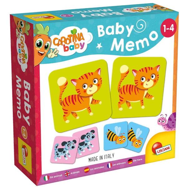 Carotina Baby Memo The Animals 10.80045 Carotina Baby Αγόρι, Κορίτσι 12-24 μηνών, 2-3 ετών