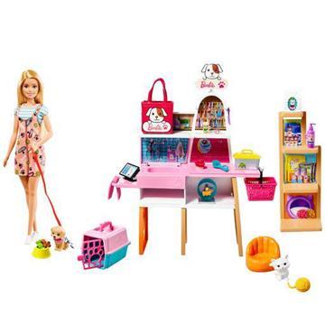 Barbie Μαγαζί Για Κατοικίδια  GRG90 BARBIE Κορίτσι 3-4 ετών, 4-5 ετών, 5-7 ετών Barbie