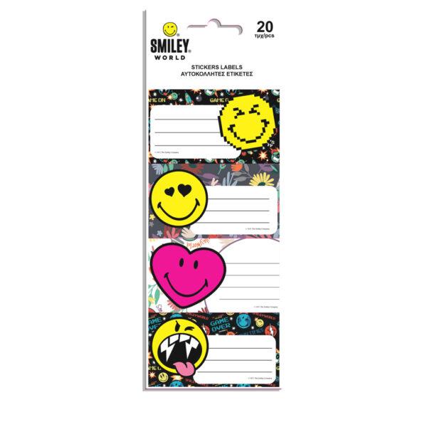 Ετικέτες Αυτοκόλλητες Smiley 20 Τμχ. σε 5 Σχέδια 504959 luna Αγόρι, Κορίτσι 5-7 ετών, 7-12 ετών