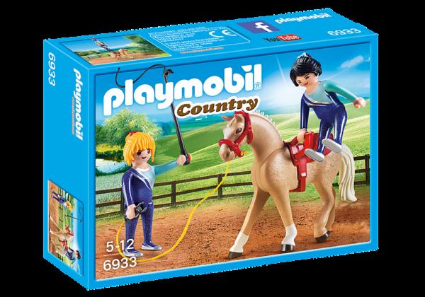 Playmobil Country Μάθημα ακροβατικής ιππασίας 6933 Playmobil, Playmobil Country Αγόρι, Κορίτσι 5-7 ετών, 7-12 ετών