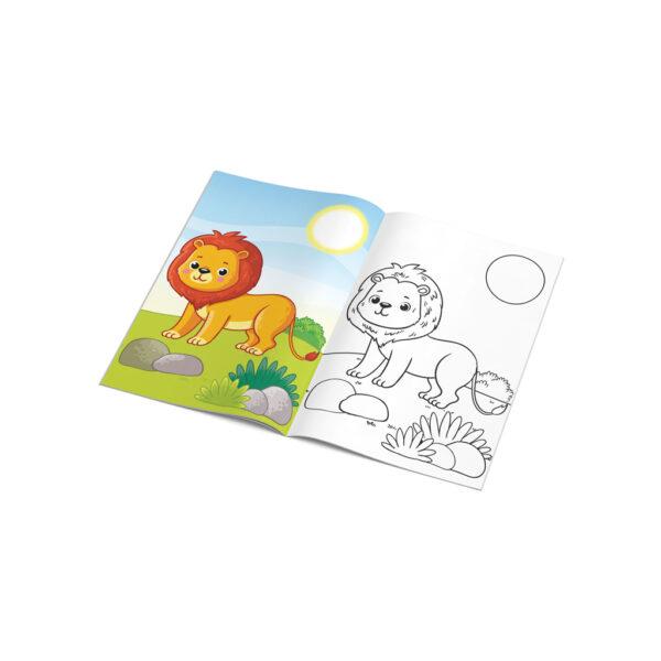 Βιβλίο Ζωγραφικής Ζώα The Littlies 646820  Αγόρι, Κορίτσι 3-4 ετών, 4-5 ετών, 5-7 ετών, 7-12 ετών the littlies