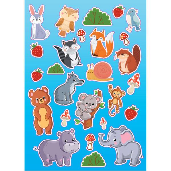 the littlies  Βιβλίο Ζωγραφικής Ζώα The Littlies 646820 Αγόρι, Κορίτσι 3-4 ετών, 4-5 ετών, 5-7 ετών, 7-12 ετών