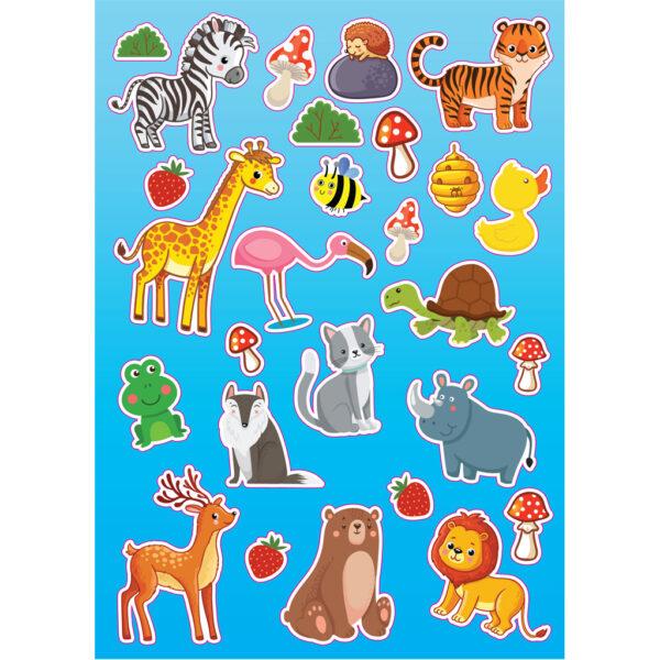 the littlies Αγόρι, Κορίτσι 3-4 ετών, 4-5 ετών, 5-7 ετών, 7-12 ετών Βιβλίο Ζωγραφικής Ζώα The Littlies 646820