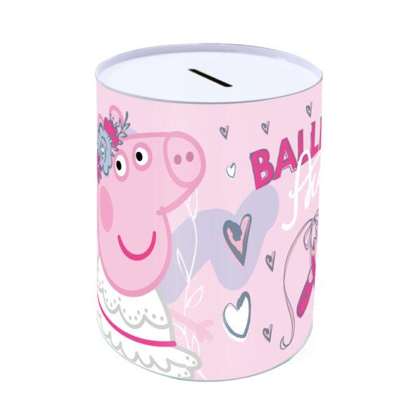 Κουμπαράς Μεταλλικός Peppa Pig 10x15 εκ. 482613 must Αγόρι, Κορίτσι 4-5 ετών, 5-7 ετών, 7-12 ετών Peppa Pig