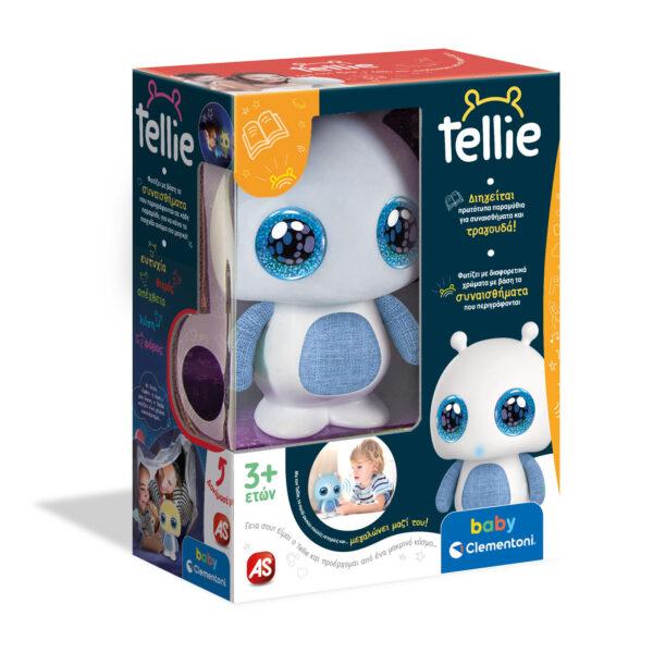 Baby Clementoni Βρεφικό  Παιχνίδι tellie Τα Πρώτα Μου Παραμύθια 1000-63893 Baby Clementoni Αγόρι, Κορίτσι 3-4 ετών, 4-5 ετών, 5-7 ετών