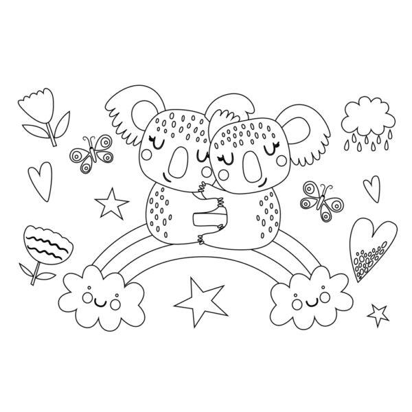Μπλοκ Ζωγραφικής The Littlies Κορίτσι, 40 Φύλλα, Αυτοκόλλητα-Στένσιλ- 2 Σελίδες Χρωματισμού, 23x33 εκ., 2 Σχέδια 646849 Κορίτσι 3-4 ετών, 4-5 ετών, 5-7 ετών, 7-12 ετών  the littlies