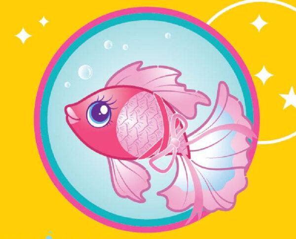 Little LIVE PETS Little Live Pets Ψαράκι Aquaritos 3 σχέδια LP101000 Αγόρι, Κορίτσι 3-4 ετών, 4-5 ετών