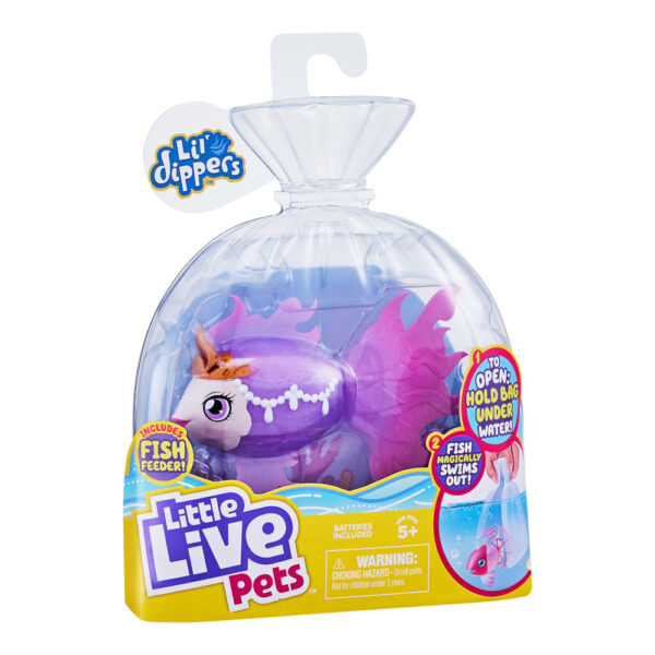Little Live Pets Ψαράκι Aquaritos 3 σχέδια LP101000 Little LIVE PETS Αγόρι, Κορίτσι 3-4 ετών, 4-5 ετών