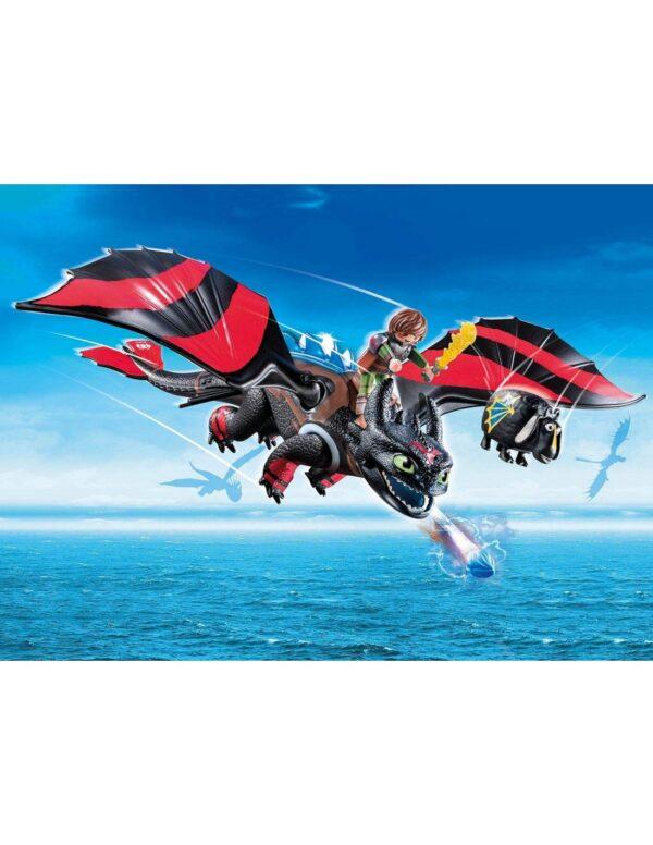 Playmobil, Playmobil Dragons Dragons Playmobil Dragon Racing: Ψαρής και Φαφούτης -70727 Αγόρι 12 ετών +, 4-5 ετών, 5-7 ετών, 7-12 ετών