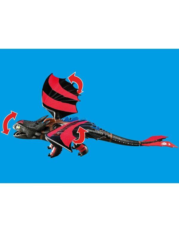 Playmobil Dragon Racing: Ψαρής και Φαφούτης -70727 Αγόρι 12 ετών +, 4-5 ετών, 5-7 ετών, 7-12 ετών Dragons Playmobil, Playmobil Dragons