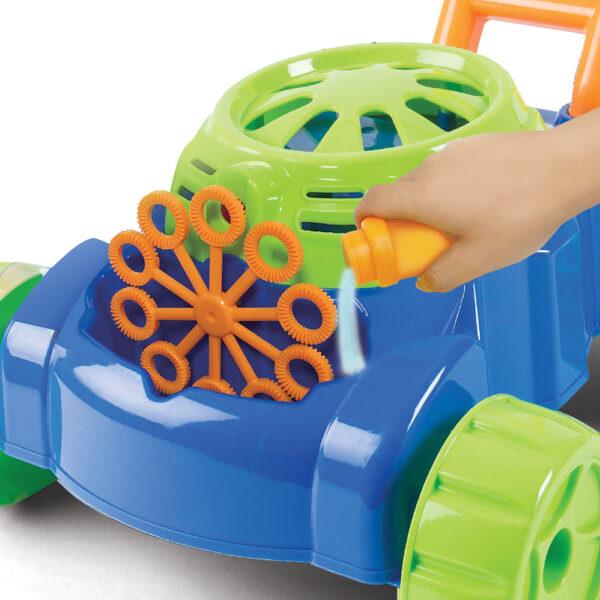As Αγόρι, Κορίτσι 3-4 ετών, 4-5 ετών, 5-7 ετών As Μηχανή  Γκαζόν για Σαπουνόφουσκες  5200-01352