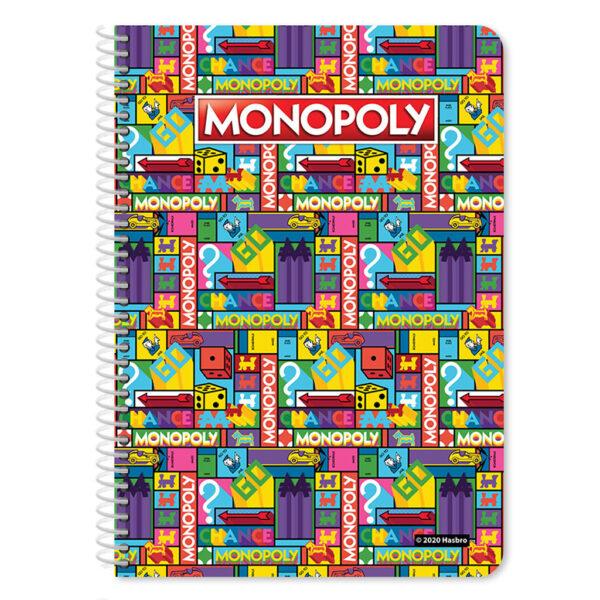 Τετράδιο Σπιράλ A4 Monopoly, 2 Θέματα, 60 Φύλλα, 2 Σχέδια 483022 must Αγόρι, Κορίτσι 4-5 ετών, 5-7 ετών, 7-12 ετών