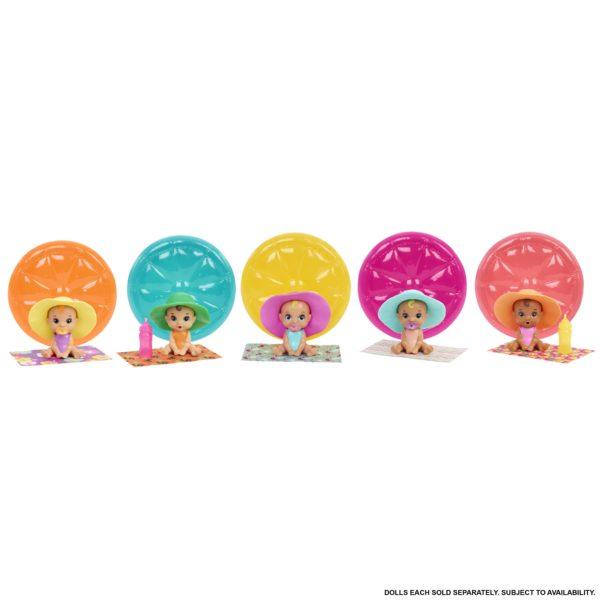 BARBIE Barbie Pets Color Reveal Summer Series 5 Σχέδια GTT12 Κορίτσι 3-4 ετών, 4-5 ετών, 5-7 ετών