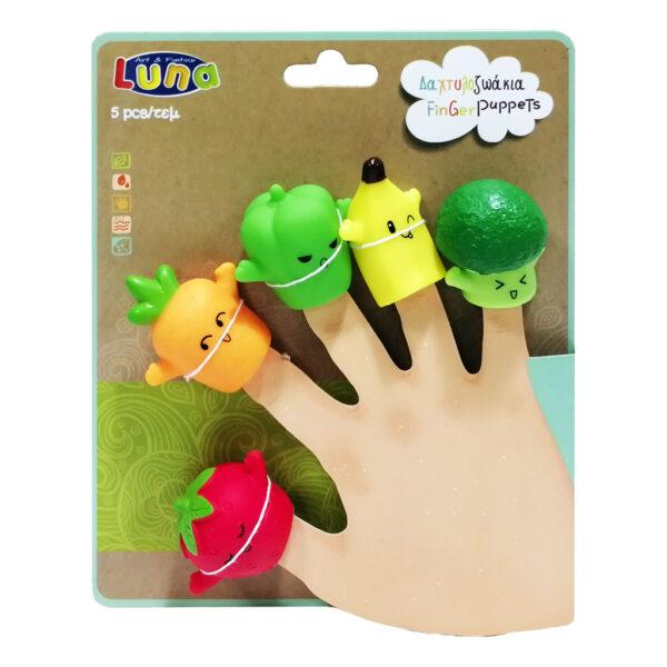 Δαχτυλοζωάκια Luna Toys 621466 luna Αγόρι, Κορίτσι 2-3 ετών, 3-4 ετών, 4-5 ετών