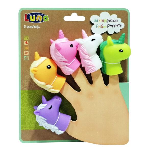luna  Δαχτυλοζωάκια Luna Toys 621466 Αγόρι, Κορίτσι 2-3 ετών, 3-4 ετών, 4-5 ετών