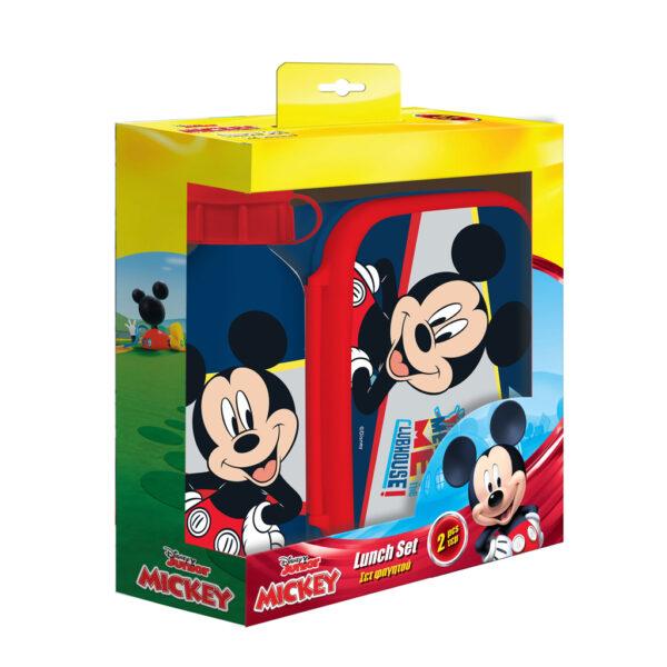 Σετ Φαγητού Disney Mickey Mouse με Φαγητοδοχείο 800 ml - Παγούρι Αλουμινίου 500 ml 562738 must Αγόρι, Κορίτσι 3-4 ετών, 4-5 ετών, 5-7 ετών, 7-12 ετών Mickey