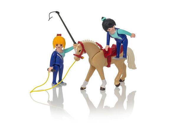 Playmobil Country Μάθημα ακροβατικής ιππασίας 6933  Αγόρι, Κορίτσι 5-7 ετών, 7-12 ετών Playmobil, Playmobil Country