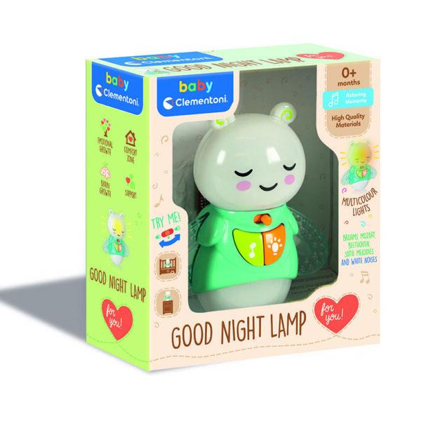 Baby Clementoni Βρεφικό Φωτάκι Νυκτός 1000-17441 Baby Clementoni Αγόρι, Κορίτσι 0-6 μηνών, 12-24 μηνών, 6-12 μηνών